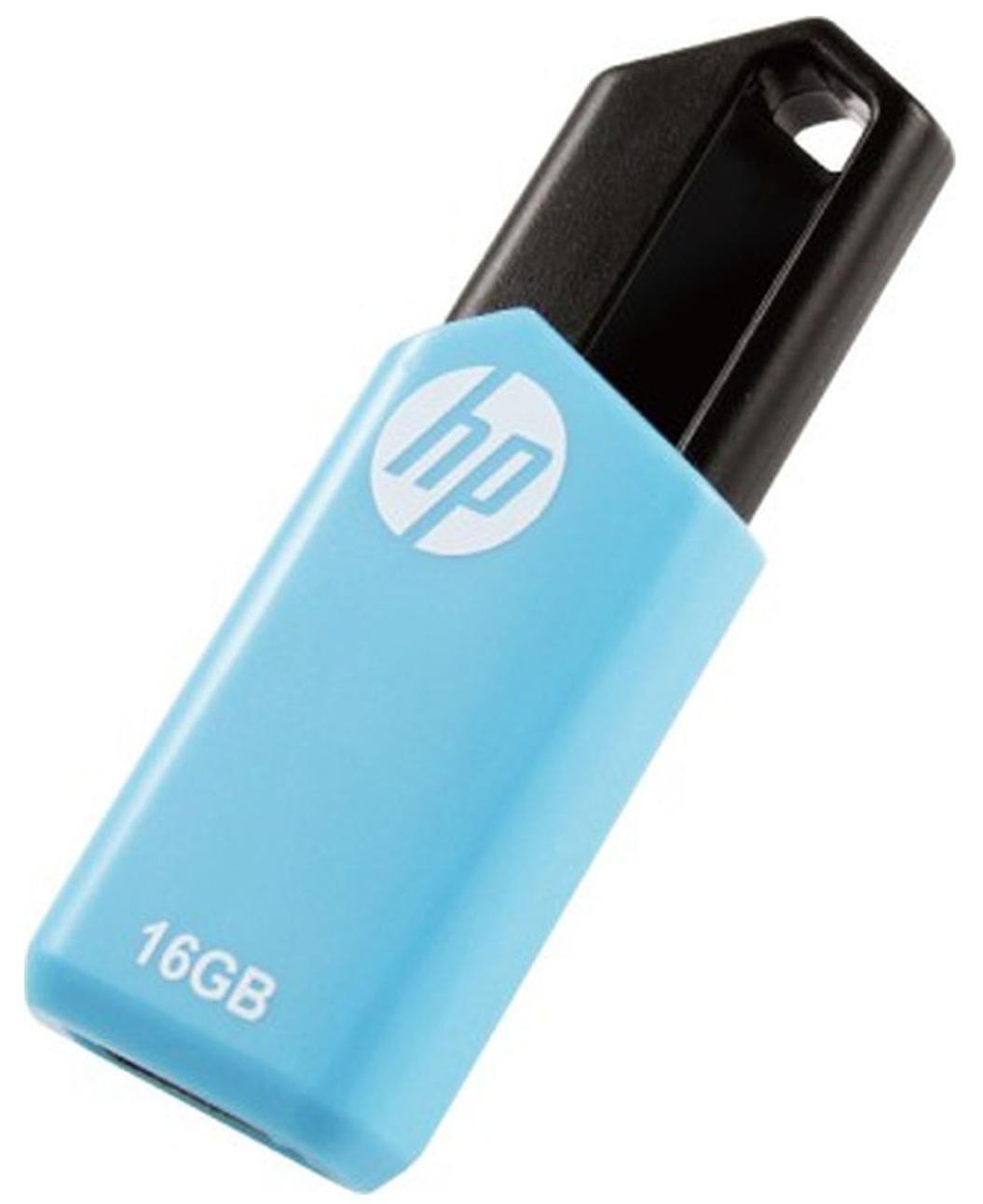 HP V150W USB 2.0 16GB Pen Drive (Blue)