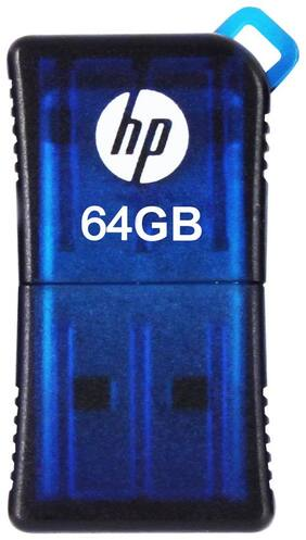 HP v165w 64 GB USB 2.0 Pendrive ( Blue )