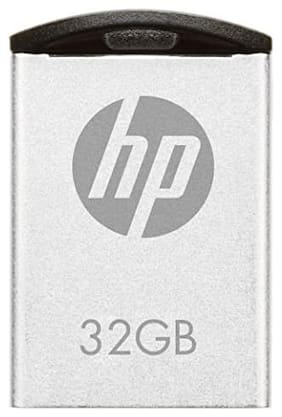 HP v222w 32 GB USB 2.0 Pendrive ( Silver )