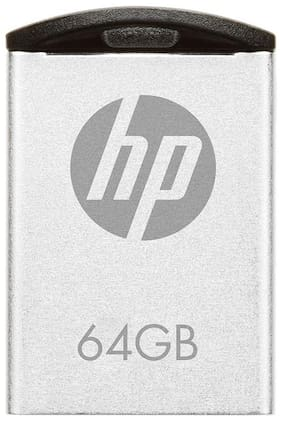HP v222w 64 GB USB 2.0 Pendrive ( Silver )