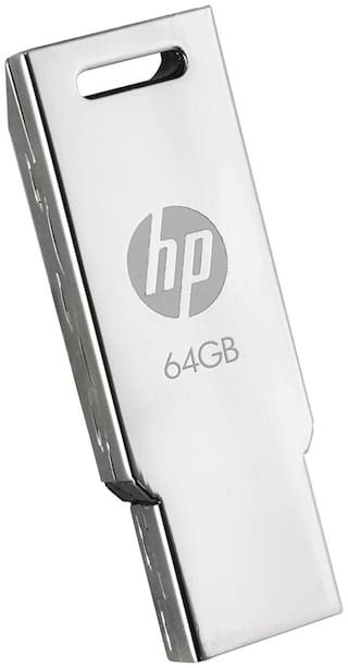 HP V232w 64GB 64 GB USB 2.0 Pendrive ( Silver )