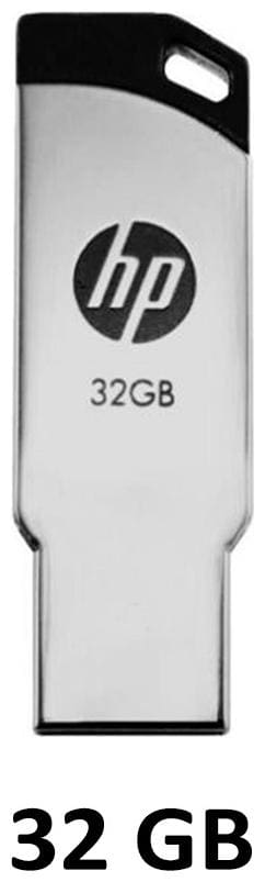 HP V236W 32 GB USB 2.0 Pendrive ( Silver )