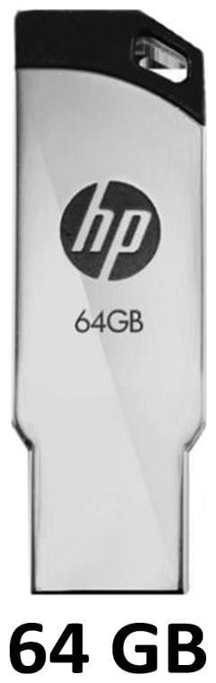 HP V236W 64 GB USB 2.0 Pendrive ( Silver )