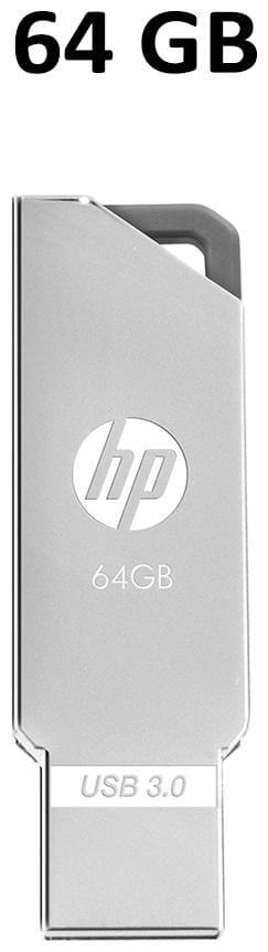 HP x740 64 GB USB 3.0 Pendrive ( Grey )