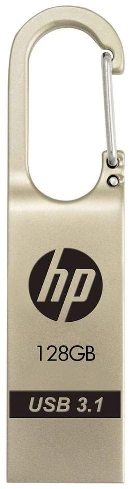 HP x760w 128 GB USB 3.1 Pendrive ( Silver )
