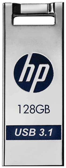 HP x795w 128 GB USB 3.1 Pendrive ( Silver & Blue )