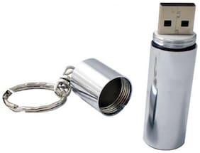 KBR Product Metalic Keyring USB 2.0 4 GB Pendrive
