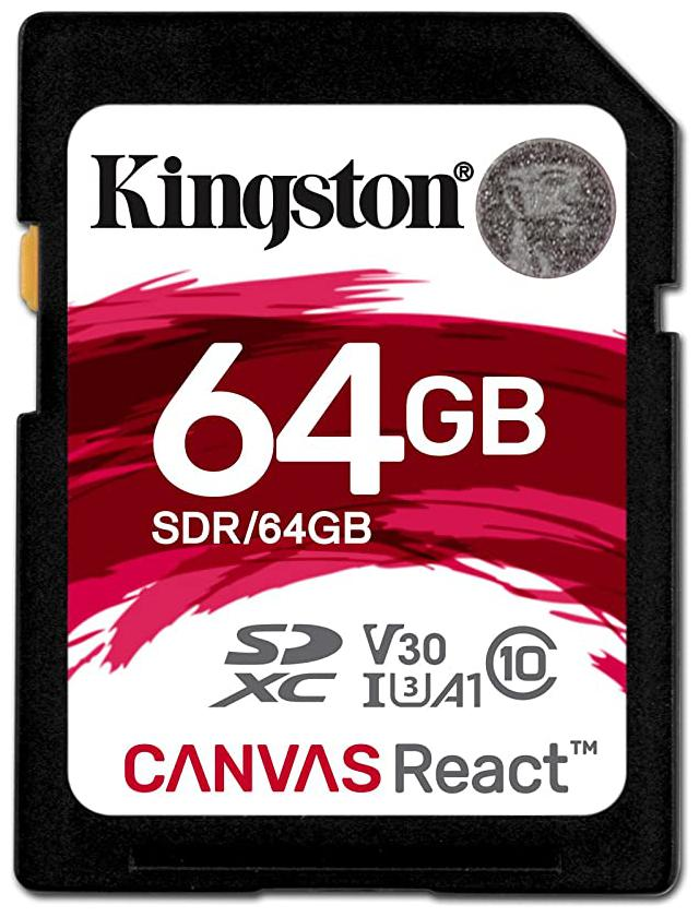 Kingston 64  GB Class 10 SD Memory Card   Pack of 1