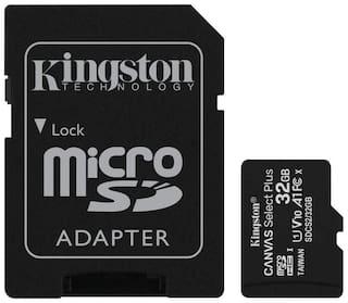 Kingston 32 GB Class 10 MicroSDXC Memory Card ( Pack of 1 )