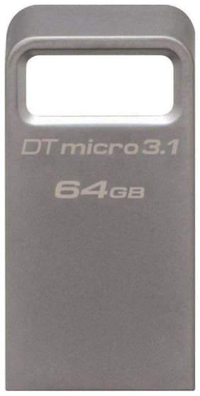 Kingston DataTraveler DTMC 64GB USB 3.1 Pen Drive (DTMC3/64GBIN)