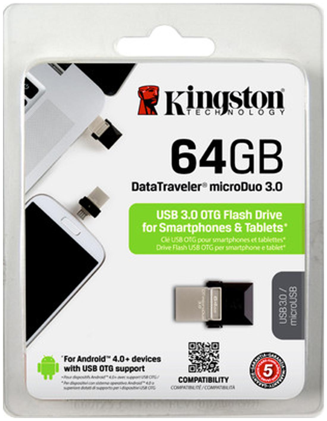 Kingston 64  GB USB 3.0 Pendrive   Multi