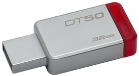 Kingston DT50/32GBIN 32 GB USB 3.0 Pendrive ( Grey )