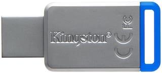 Kingston DT50/64GBIN 64 GB USB 3.0 Pendrive ( Grey )