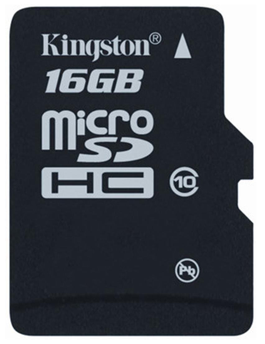 Kingston 16GB MicroSDHC Memory Card
