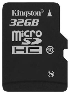 Kingston MicroSDHC 32 GB Class 10 Memory Card