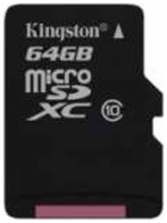 Kingston MicroSDXC 64  GB UHS I Class 10 Memory Card