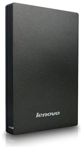Lenovo GXB0K28987 1 TB USB 3.0 External HDD - Black