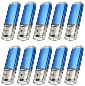 Lot/10 1GB 2GB 4GB 8GB 16GB USB 2.0 Rectangle Flash Drive Memory Stick Pen Drive