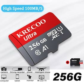 Memory Card 256GB 100MB/S Micro SD Class10 TF Card  SDXC With Adapter Universal