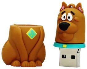 Pankreeti Cute Bulldog  USB 2.0 32 GB (Brown)