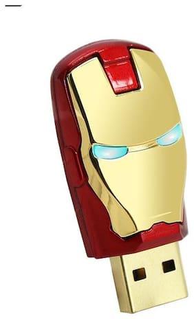 Pankreeti Ironman USB 2.0 32 GB (Gold)