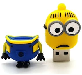Pankreeti Minion USB 2.0 16 GB (Yellow)