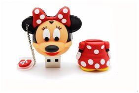 Pankreeti Minnie Mouse  USB 2.0 16 GB (Red)