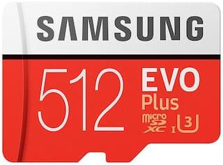 Samsung 512 GB UHS-I MicroSDXC Memory Card ( Pack of 1 )