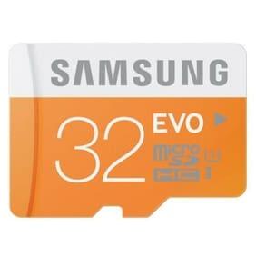 Samsung Evo 32GB High Speed Class 10 MicroSD Memory Card for Smartphones