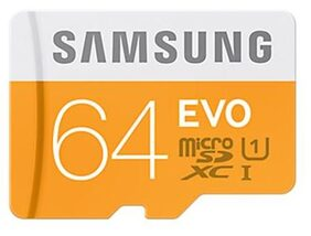 Samsung MicroSD 64 GB Class 10 Memory Card with (SD Adapter)