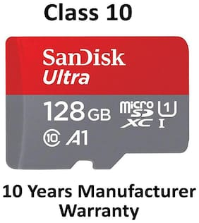 SanDisk 128GB Class 10 microSDXC Memory Card(SDSQUAR-128G-GN6MA)