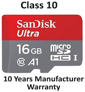 SanDisk 16GB Ultra microSDHC (microSD) Memory Card U1 98MB/s A1