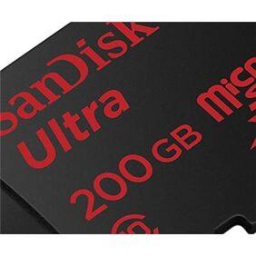 Sandisk 200 GB Memory Card Class 10