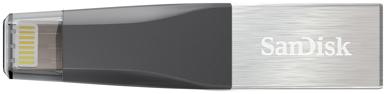 SanDisk iXpand Mini 128  GB USB 3.0 Pendrive   Silver