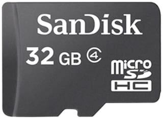 SanDisk microSDHC 32 GB Class 4 Memory Card