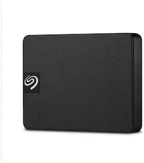 Seagate 1 TB USB 3.0 External SSD - Black