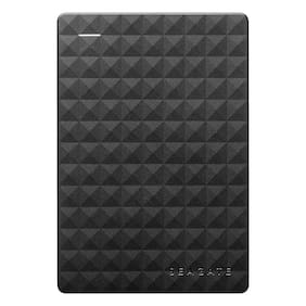 Seagate Expansion Portable 2 TB USB 3.0 External HDD - Black