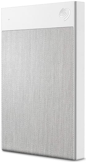 Seagate Backup Plus Ultra Touch 2 TB USB 3.0 External HDD - White