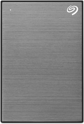 Seagate Backup Plus Slim 2 TB USB 3.0 External HDD - Grey
