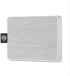 Seagate 500 GB Solid State Drive External Hard Disk USB 3.0 - White , STJE500402