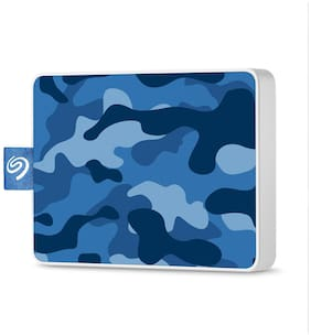 Seagate 500 GB Solid State Drive External Hard Disk USB 3.0 - Blue , STJE500406