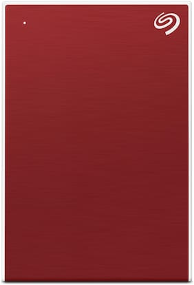 Seagate Backup Plus Portable 5 TB USB 3.0 External HDD - Red