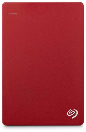 Seagate 2TB Backup Plus Slim (Red) USB 3.0 Portable 2.5 Inch External HDD for PC/Mac with 2 Months Free Adobe Creative Cloud Photography Plan & Kaspersky Antivirus 1PC   1 Yr Subscription