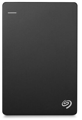 Seagate 2TB Backup Plus Slim USB 3.0 Portable 6.35 cm (2.5 Inch) External Hard Drive for PC and Mac with 2 Months Free Adobe Creative Cloud Photography Plan - Black