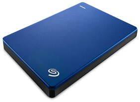 Seagate 1TB Backup Plus Slim USB 3.0 Portable 6.35 cm (2.5 Inch) External Hard Drive for PC and Mac with 2 Months Free Adobe Creative Cloud Photography Plan - Blue