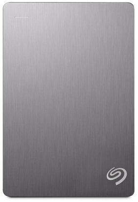 Seagate Backup Plus 4 Tb External Hard Disk ( Silver )