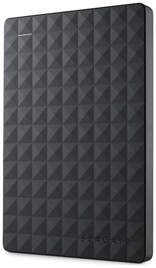 Seagate 1 TB Hard Disk Drive External Hard Disk USB 3.0 - Black , STEA1000400