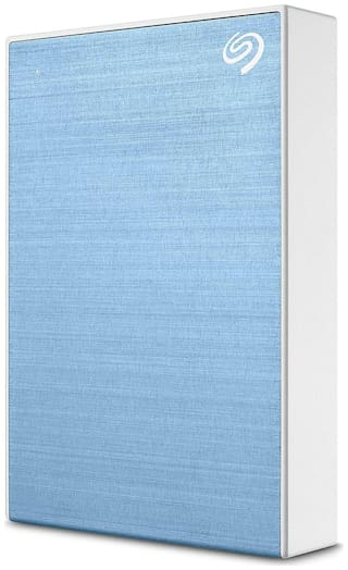 Seagate One Touch 2 TB USB 3.0 External HDD - Light Blue