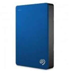 Seagate 4TB Backup Plus USB 3.0 Portable 6.35 cm (2.5 Inch) External Hard Drive for PC and Mac with 2 Months Free Adobe Creative Cloud Photography Plan - Blue