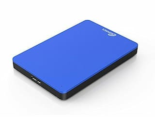 Sonnics 160GB Blue External Hard drive USB 3.0 Windows PC Mac XBOX 360 New
